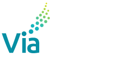 ViaOne Services Logo White Footer