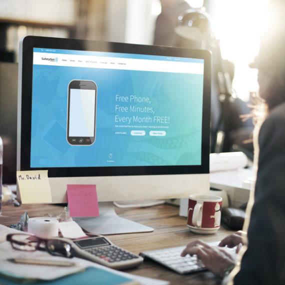SafetyNet Website Design SEO SEM ViaOne Marketing Services