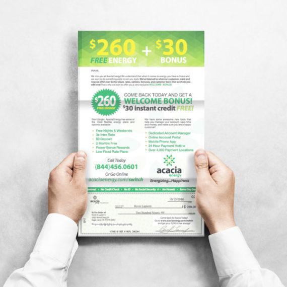 Winback Letter ViaOne Services Mailer Customer Retention