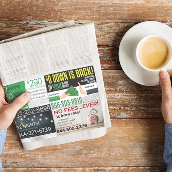 Greensheets Advertisements Print Material ViaOne Marketing